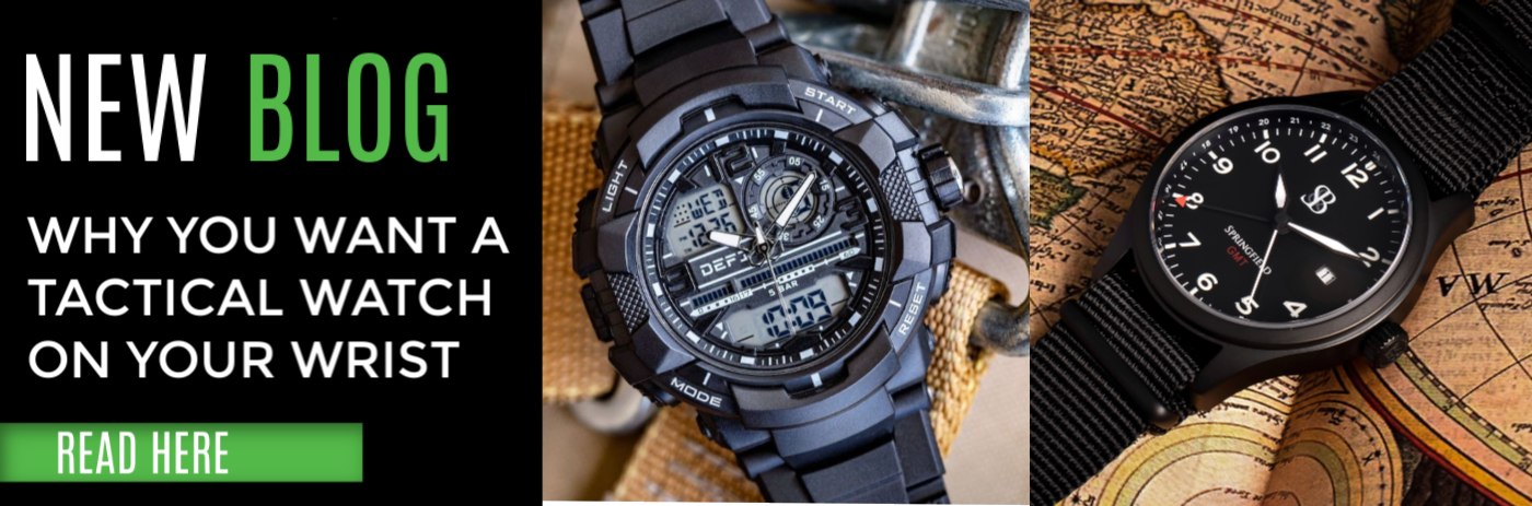 Tactical Watches Blog Post